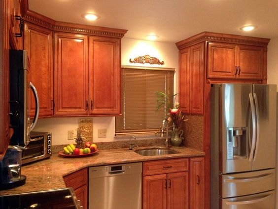 brown-kitchen-cabinet