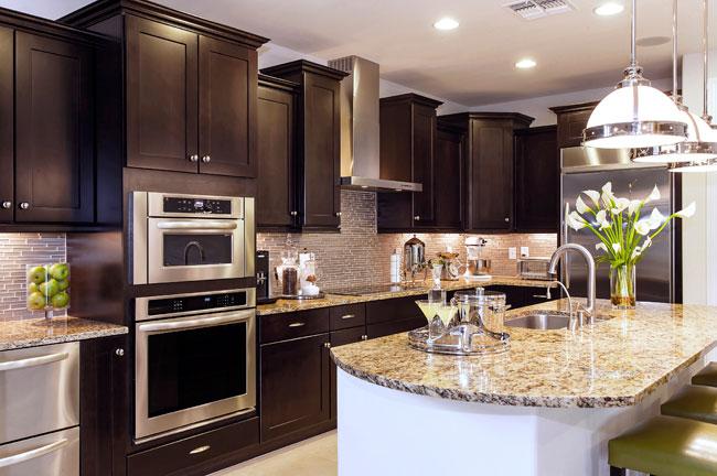 espresso-kitchen-cabinets
